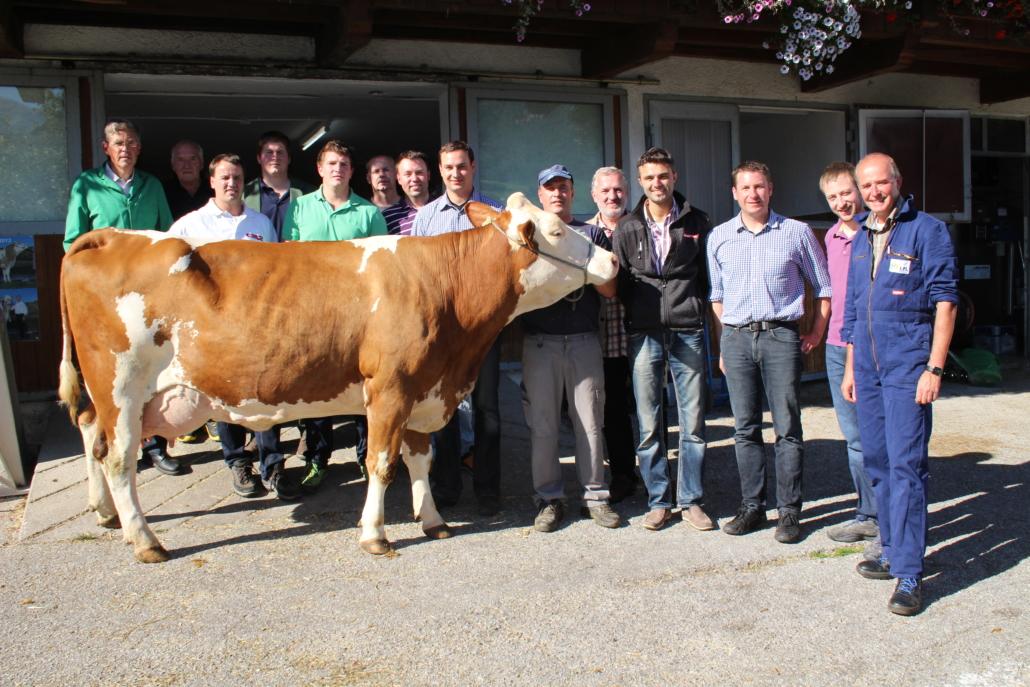 Die Teilnehmer an der Bewerterschulung in Tirol im August 2014