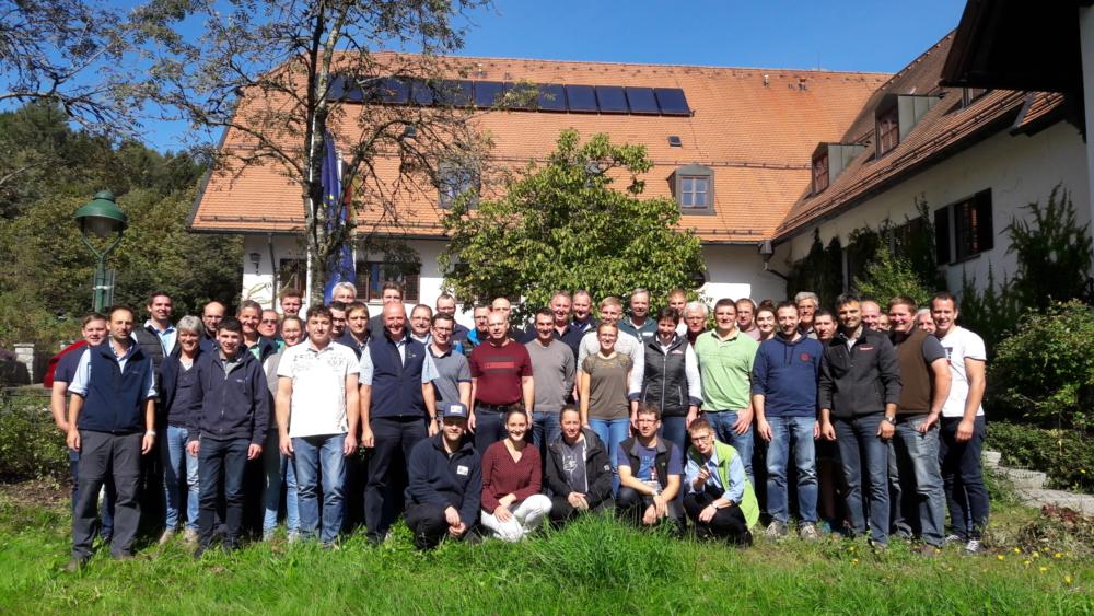 Teilnehmer der Exterieurbewerterschulung 2019 in Deutschland