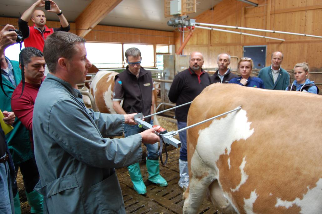 Vorstellung neuer Messtechniken beim EVF-Treffen Südtirol 2015